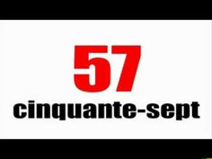▶ Les nombres en français: de 0 à 100 - YouTube