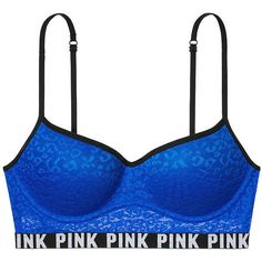 294ca0be92d9a Victorias Secret Pink Leopard Lace PushUp Bralette Bra S 34 AC 32 CD      Learn more by visiting the image link.