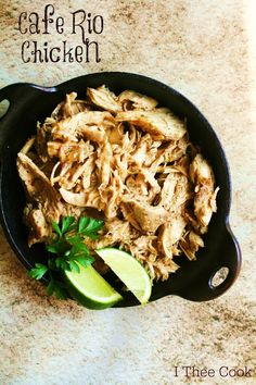 I Thee Cook: Cafe Rio Chicken