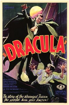 Dracula 11x17 Movie Poster (1931)