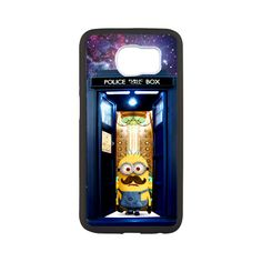 tardis doctor who with despicable me samsung galaxy s6 case cover $17.5   #Accessories #Case #cover #CellPhone #Galaxys6case #hardcase #plasticcase #hardcover  #despicableme #comedy #minions #adventure #animatedfilm #3Dfilm #comic #superhero #superman #costume #superman #costume #movie