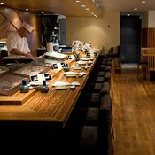 Ushiwakamaru - Heard great things about the sushi/sashimi here. Order the omakase.  136 Houston St., New York, NY 10012  nr. Sullivan St.   212-228-4181  (Sushi/Soho)