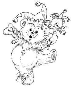 die 25 besten bilder von malvorlagen bären (teddys