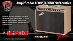La Púa San Miguel: Amplificador FENDER ACOUSTASONIC 90 para Guitarra ...