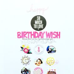 April Kit - Birthday Wish, by Niru