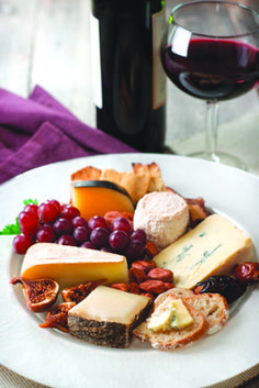 CREATING THE PERFECT CHEESE PLATE - Specialty cheeses are abundant at VALLEY NATURAL FOODS. Let our staff help you with awesome selections and pairings for a beautiful cheese plate to serve at a party.