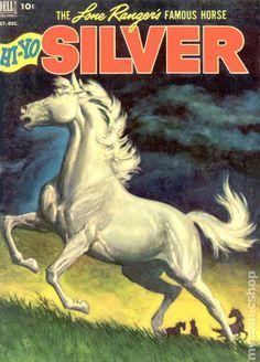 Lone Ranger's Famous Horse Hi-Yo Silver (1952) comic books