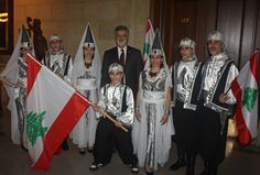 Ajyal Lebanese Dancers with Cleveland Mayor Frank Jackson Arab Fashion, Fashion History, Beirut, Lebanon Independence Day, Cleveland City Hall, Love Culture, North Africa, Traditional Dresses, Accessories