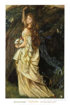 Image is Copyrighted and Property of its respective owner About the ArtistArthur Hughes January 1832 – 22 December was an English painter and illustrator associated with the Pre-Raphaelite Brotherhood. Hughes was born in London. A4 Poster, Poster Prints, Art Prints, Long Engagement, Pre Raphaelite Brotherhood, John William Waterhouse, Irish Culture, Digital Museum, Queen