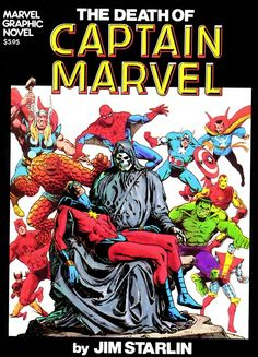 The death of Mar-Vell. Captain Marvel, a Kree (alien) dies of cancer. Carol Danvers is now adopting the Captain Marvel mantle. Carol is the female Mar-Vell. Nicki is the female Weezy. Carol is the marvel universe's Nicki. Marvel Comics Superheroes, Marvel Comic Books, Marvel Characters, Comic Books Art, Comic Art, Dc Comics, Comic Pics, Marvel Movies, Captain Marvel