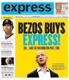 Washington Post Express tabloid, Aug. 6, 2013