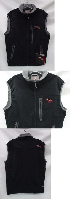 Vests 178080: Sitka Gear Mens Jetstream Vest 30043 Sitka Black Size Extra Large -> BUY IT NOW ONLY: $188.99 on eBay!