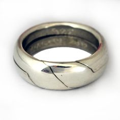 Blessing puzzle ring,sterling silver,size by order