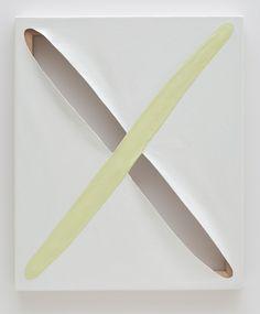 Dianna Molzan | Untitled, 2009. Oil on canvas on fir