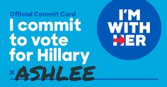 Commit to Vote | Hillary for Pennsylvania