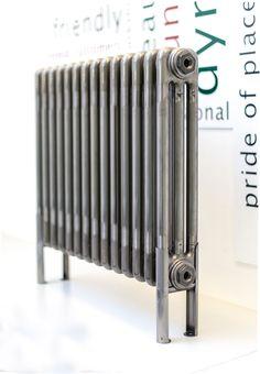 electric bare metal column radiator