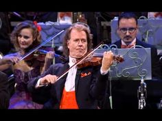Dutch Conductor & Violinist Andre Rieu ~   Amazing Grace...just beautiful!