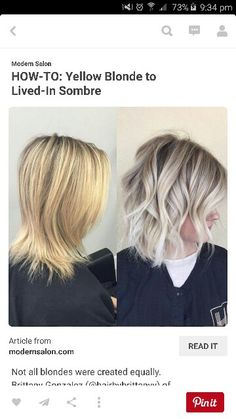 I want to go to this colour too... and maybe just above below my shoulders with tiny bit of layering? X
