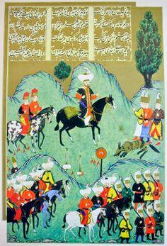 OĞUZ TOPOĞLU : 1. murat kurt avı, hünername nakkaş osman minyatür...