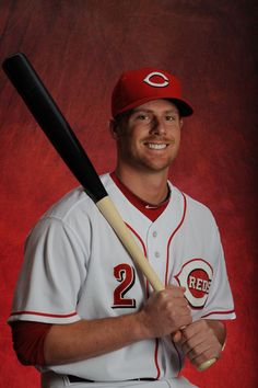 Zack Cozart #2 of the Cincinnati Reds