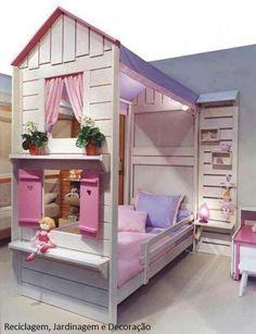 Girls bed