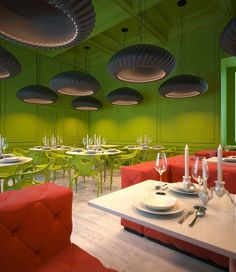 Restaurant K --- t in Kiev by Sergey Makhno