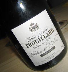 Champagne Extra Brut Blanc de Noir Trouillard   Le Mille Bolle Blog