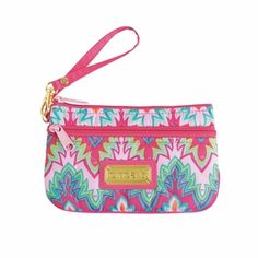 cinda b Calypso Pink Wrist Wallet | The Organizing Store #wristlet #wallet #travel