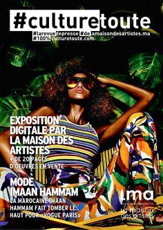 Culturetoute33 Nous sommes le Samedi 23 Avril 2016 ! ➡ En couverture. MODE, Imaan Hammam La Marocaine Imaan Hammam fait tomber le haut…