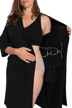 Now, breast cancer, mastectomy, and reconstruction recovery can have grace, comfort, and style. The Recovery Brobe is designed for women undergoing any breast surgery, such as mastectomy, breast recon