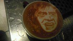 Le Bouquinovore: Baristart ou l'art de dessiner dans le café