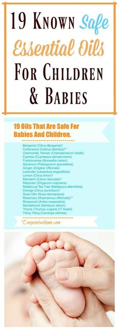 Use With Confidence: 19 Safe Essential Oils For Kids & Baby Use With Confidence: 19 Known Safe Essential Oils For Children & Babies. This post will help you gain the knowledge you need to use essential oils. Essential Oils For Congestion, Essential Oils For Babies, Best Essential Oils, Young Living Essential Oils, Essential Oil Blends, Essential Oil For Stomach Bug, Baby Design, Oil For Cough, Stress