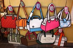 Blow Minds With This Incredible Cartoon Handbag