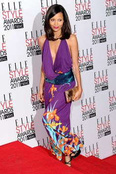 Thandie Newton Photos - Actress Thandie Newton attends the 2011 ELLE Style Awards at the Grand Connaught Rooms on February 2011 in London, England. Star Fashion, Fashion Beauty, Newton Photo, Thandie Newton, Elle Style Awards, Big Black Woman, St Style, Dressed To The Nines, Ageless Beauty