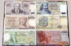 Greek History, Modern History, Great Memories, Childhood Memories, Vintage Ads, Vintage Posters, Greek Drachma, Greek Alphabet, Greek Culture