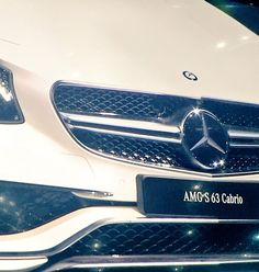 Mercedes AMG S63 Cabriolet with Night Vision camera mounted in the grille at LAAS 2015