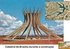 Catedral de Brasília em construção