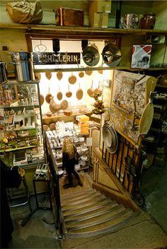 Intérieur de la boutique E.DEHILLERIN #fantastichoneymoonmemories