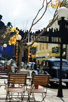 The Gangster Town, part of Museum Angkut, Batu, Malang