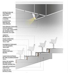 Detalle Constructivo - Auditorio de Centro Cultural on Behance