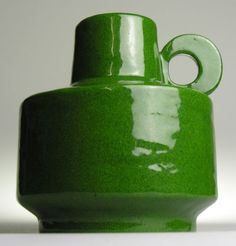 Green West German Pottery