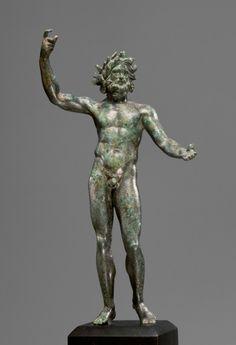 Statuette of Neptune. Culture: Roman Place of origin: Eastern Mediterranean Date: 100–1 B.C. Medium: Bronze The Ancient Way of Life
