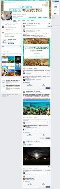 Produção de conteúdo para a fanpage Bahia Bonita Beach Club, no Facebook. A temporada de Reveillon em Trancoso, que começou em 2015 e volta novamente no fim deste ano.