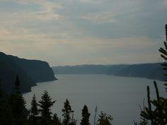 Le Saguenay, après la pluie