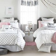 Image result for pink grey and gold duvet cover