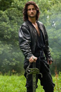 Mark Ryder is Cesare Borgia...historical badboy of Italy. Something about a man that rides horses and uses a sword does something awful to me.