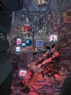 Is this cyberpunk? : Cyberpunk