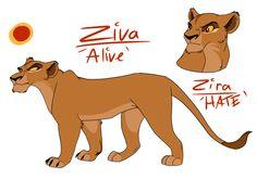 Zira by Demi-Dee96.deviantart.com on @DeviantArt