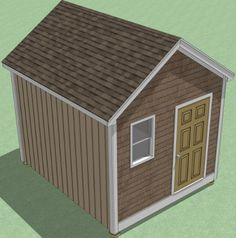 1216 Shed Plans How To Build Guide Step By Step Garden / Utility / Storage 8x12 Shed Plans, Small Shed Plans, Shed Design Plans, Wood Shed Plans, Free Shed Plans, Diy Storage Shed Plans, Storage Building Plans, Building A Shed, Roof Storage