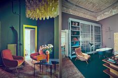 Jaw-Dropping Milan Apartment Looks Like an Oil Painting - Curbedclockmenumore-arrownoyes :